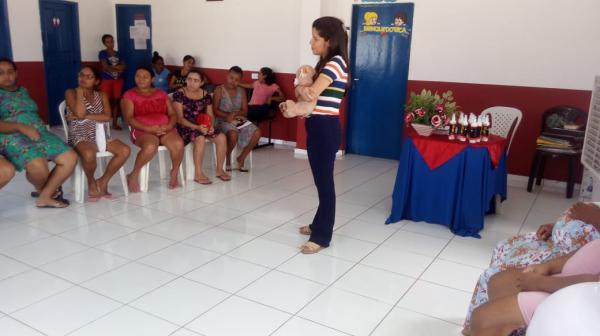 SCFV de Agricolândia realizou reunião com as Mães do programa Bem Gestar