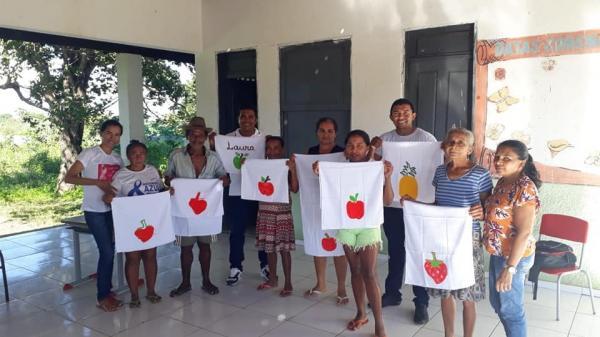Social de Santo Antônio dos Milagres Realizou Oficina de Pinturas para Mulheres das Comunidades