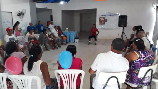 Social de Miguel Leão realiza encontro com Grupo de Idosos