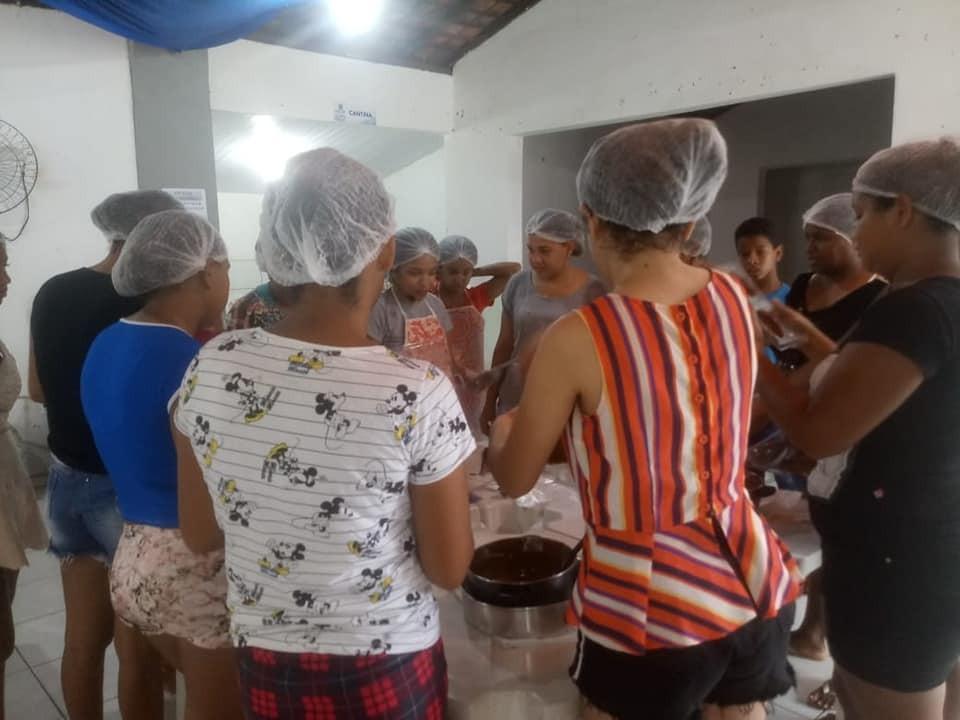 SEMAS de Miguel Leão realiza a II Oficina com Produção de Ovos de Páscoa