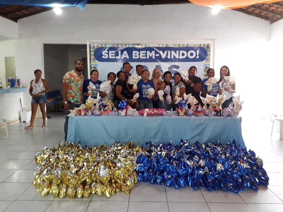 Prefeitura de Miguel Leão Finaliza II Oficina de Chocolates