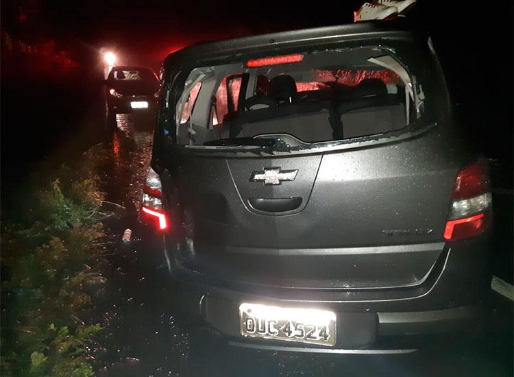 Acidente na BR-343 deixa nove pessoas feridas em Campo Maior