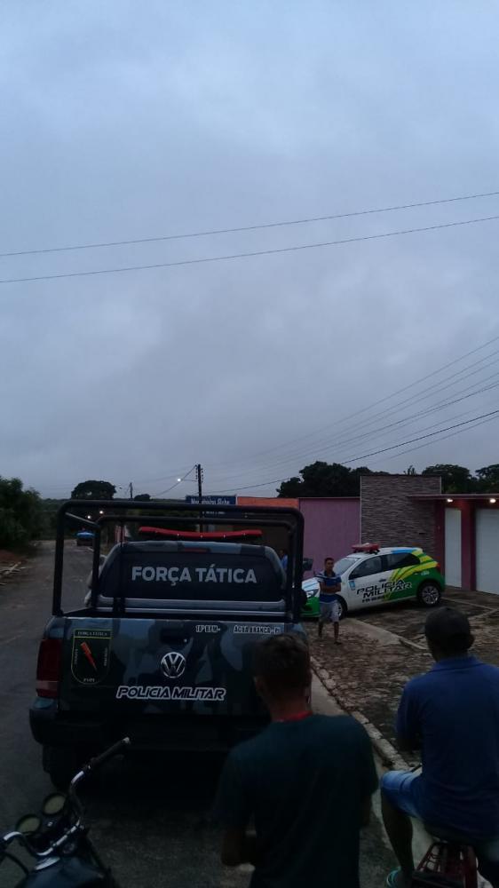 Polícia identifica o suspeito de assalto em residência na cidade de Água Branca