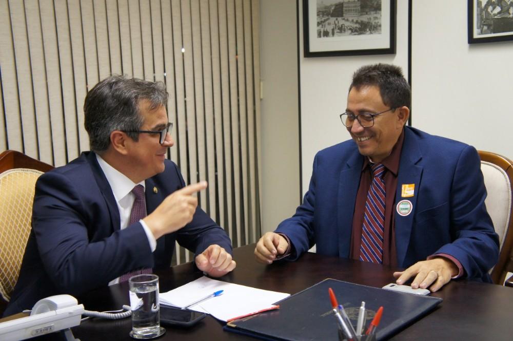 Prefeito Walter Alencar em Reunião com o Senador Ciro Nogueira