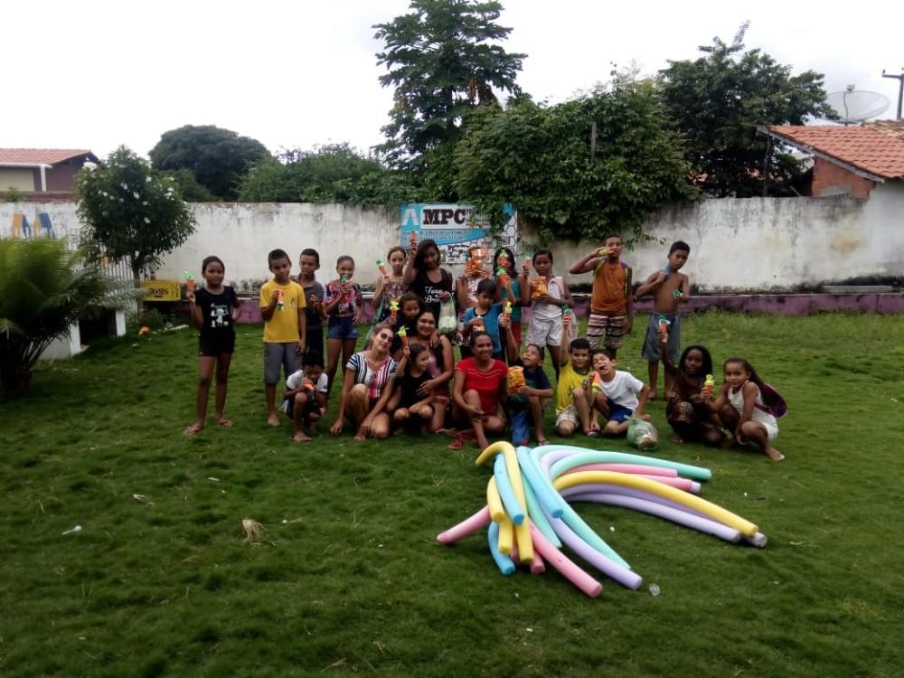 SCFV de Agricolândia realiza festinha da Páscoa para Crianças de Programas Sociais