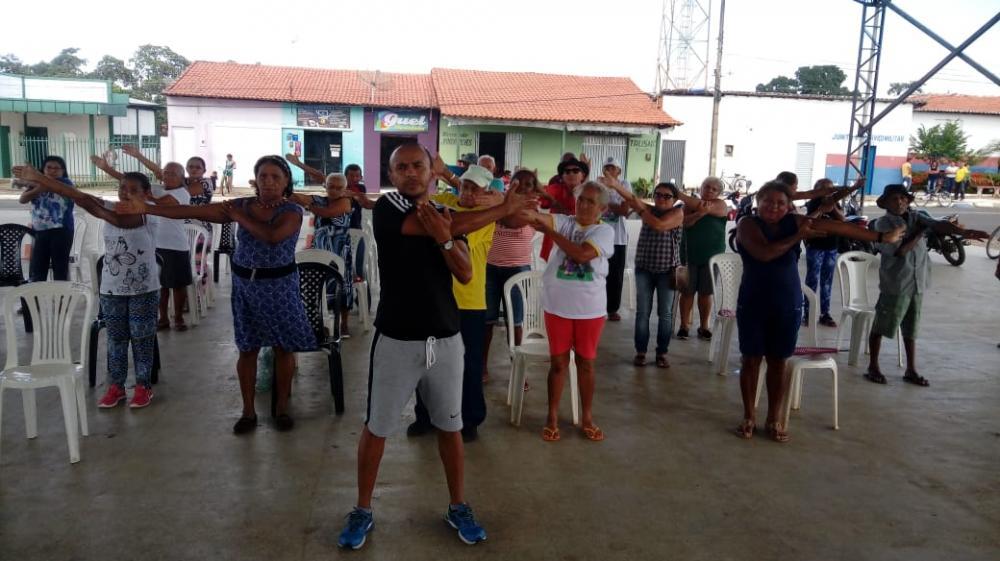 SCFV realiza atividades com Grupo de Idosos (Chicão Ainda Vive)