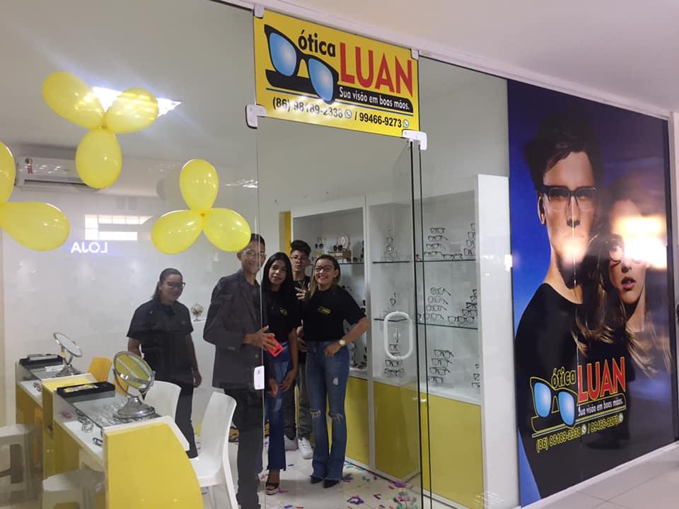 Ótica Luan é Inaugurada na Galeria Pé Quente em São Pedro do Piauí