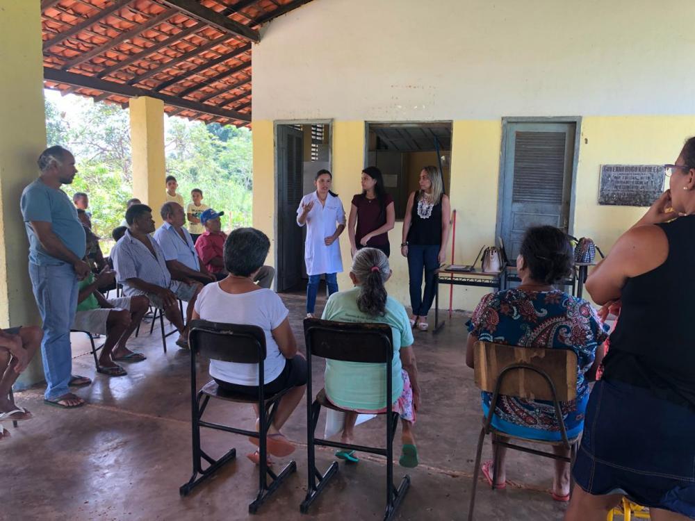 Secretaria de Saúde de Curralinhos Realiza Ação com Profissionais da Saúde da Família