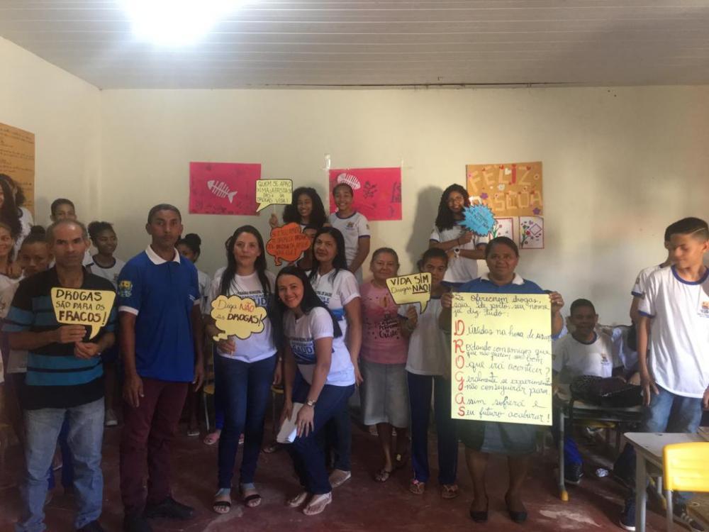 Profissionais da Saúde em Miguel Leão realizam palestras para Alunos da Cidade
