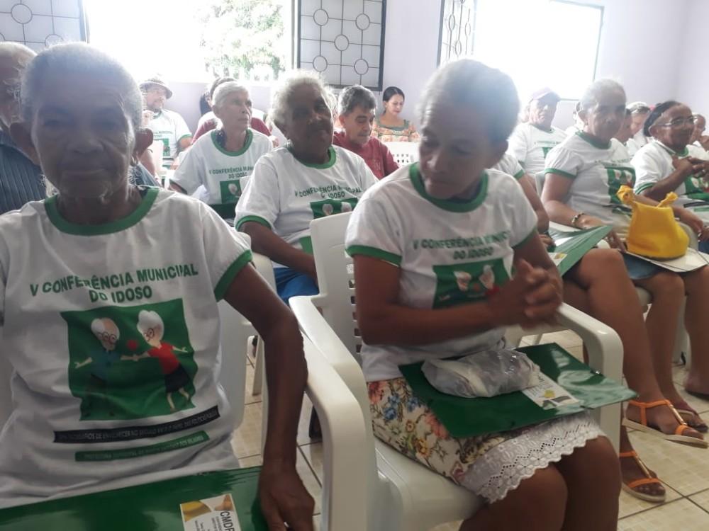 Social de Santo Antônio dos Milagres realiza Conferência dos Idosos
