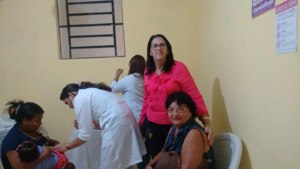 Secretaria de Saúde de Curralinhos realizou o dia D da Vacina