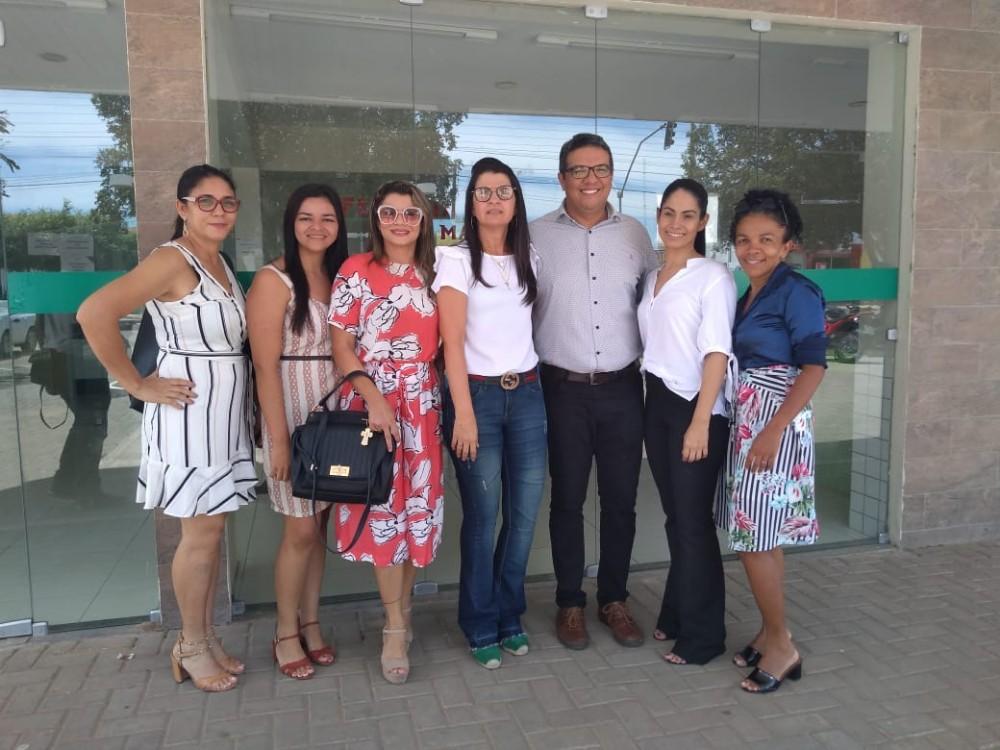 Secretária de Saúde de Agricolândia participa de visita Técnica ao Centro de Parto em Água Branca
