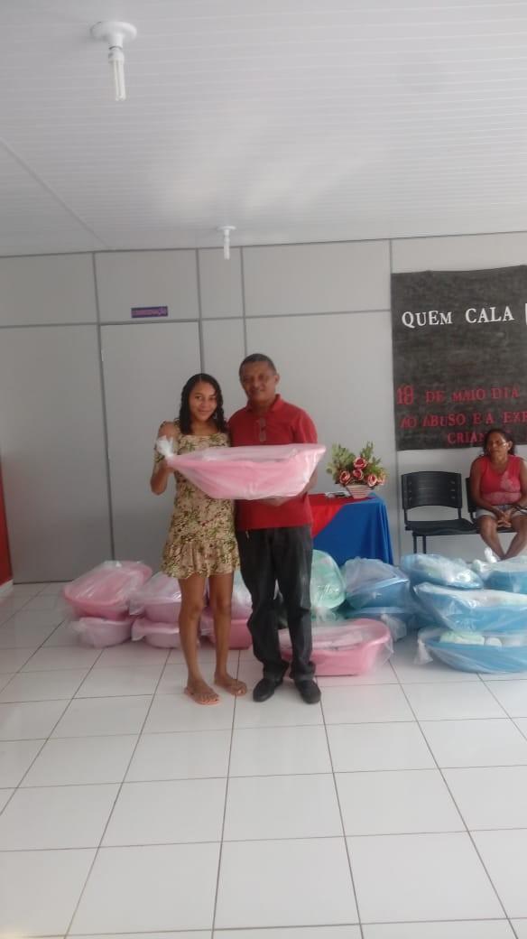 Assistência Social entrega enxovais para as gestantes do município de Agricolândia