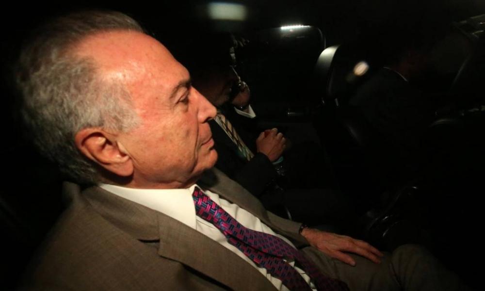 TRF-2 aceita pedido para que Michel Temer fique preso em São Paulo