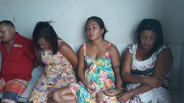 Polícia prende suspeitos de praticar furtos em Comércios do Médio Parnaíba