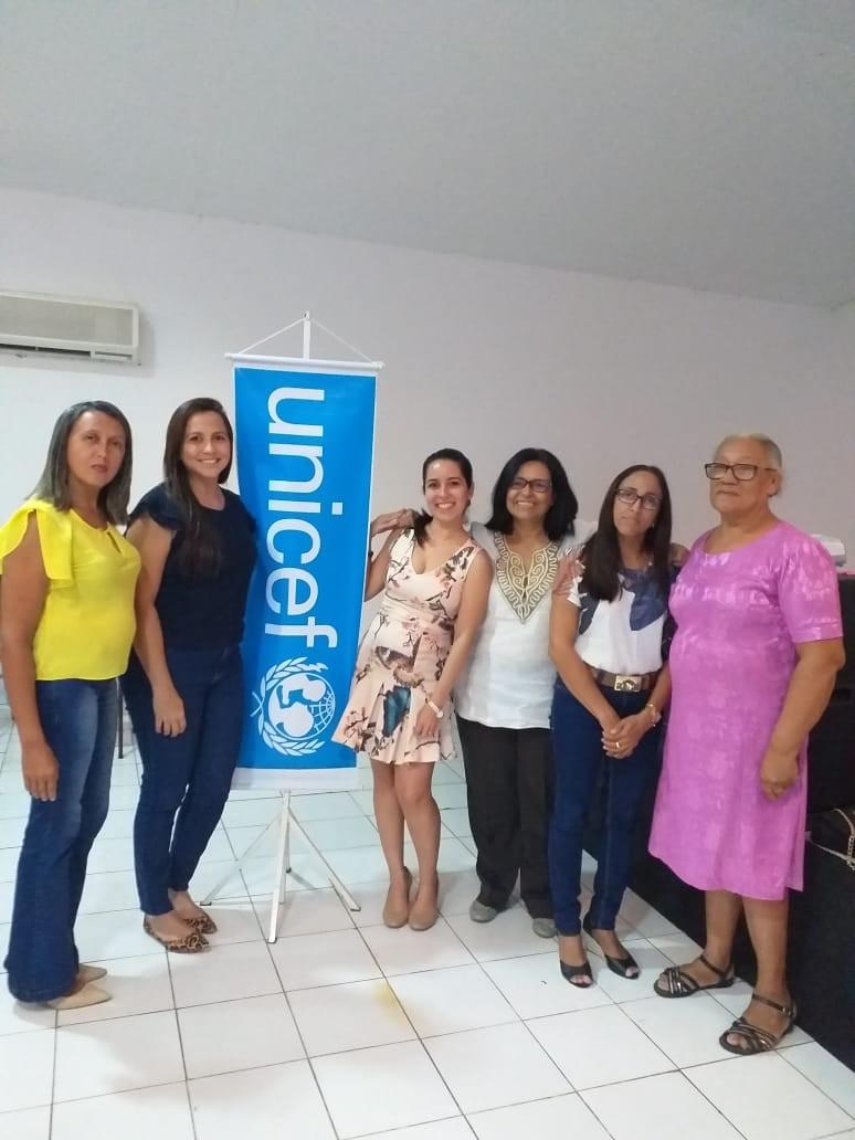 Representantes de Curralinhos participam de Capacitação do Selo UNICEF em Teresina