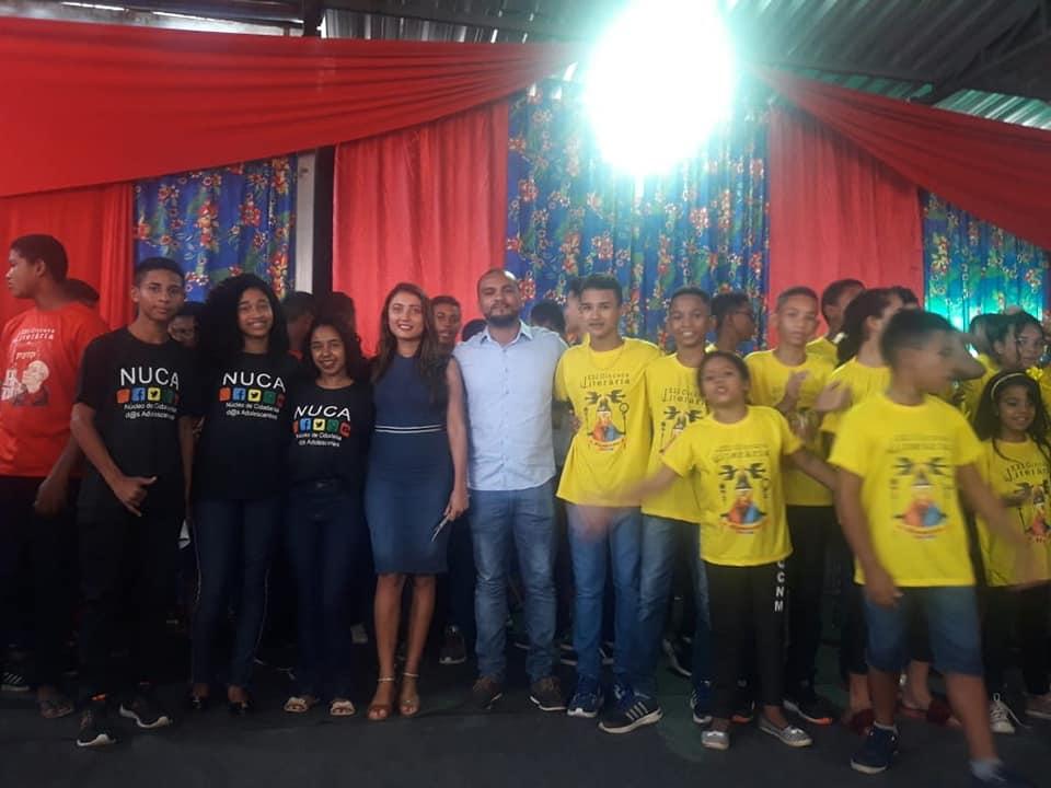 Alunos do NUCA de Miguel Leão Participa de Gincana em Teresina