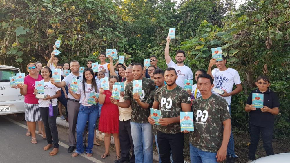 Igreja Adventista do Sétimo Dia realizou Mobilização na Cidade de Lagoinha