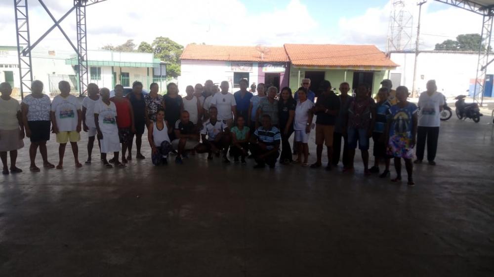 SCFV de Agricolândia realiza Aula de Educação Física e Zumba para Idosos