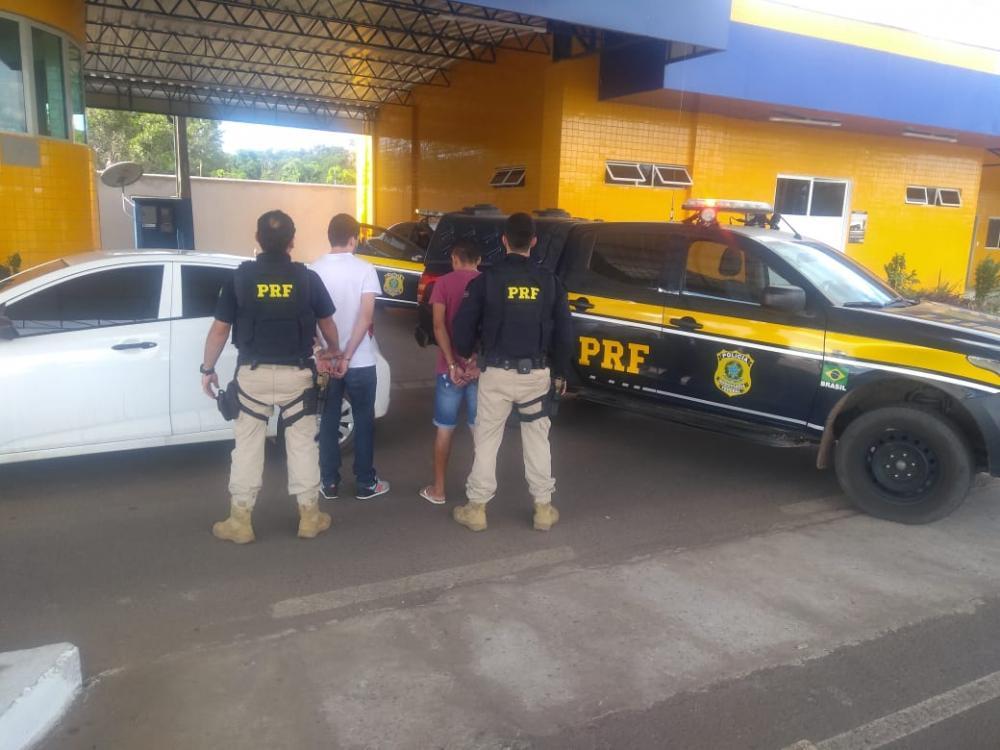PRF prende suspeitos de roubar R$2 milhões de agências bancárias no PI