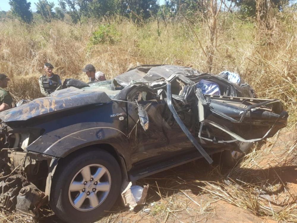 Três pessoas morrem em grave acidente na BR-135 em Monte Alegre do PI