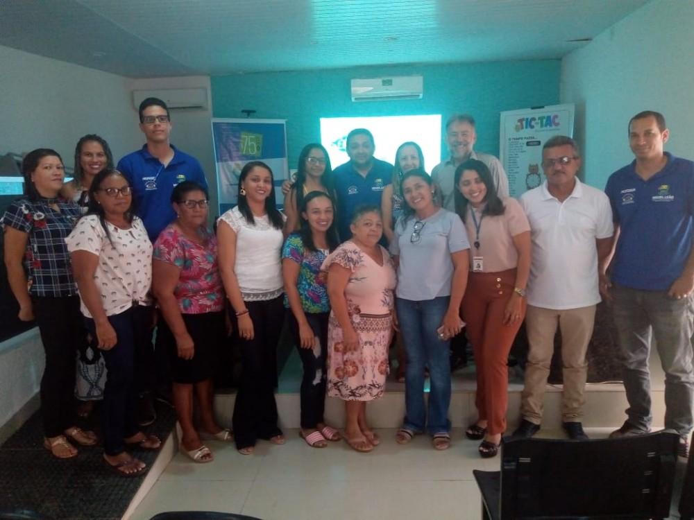 Professores de Miguel Leão participaram de Capacitação com Representantes da Editora do Brasil