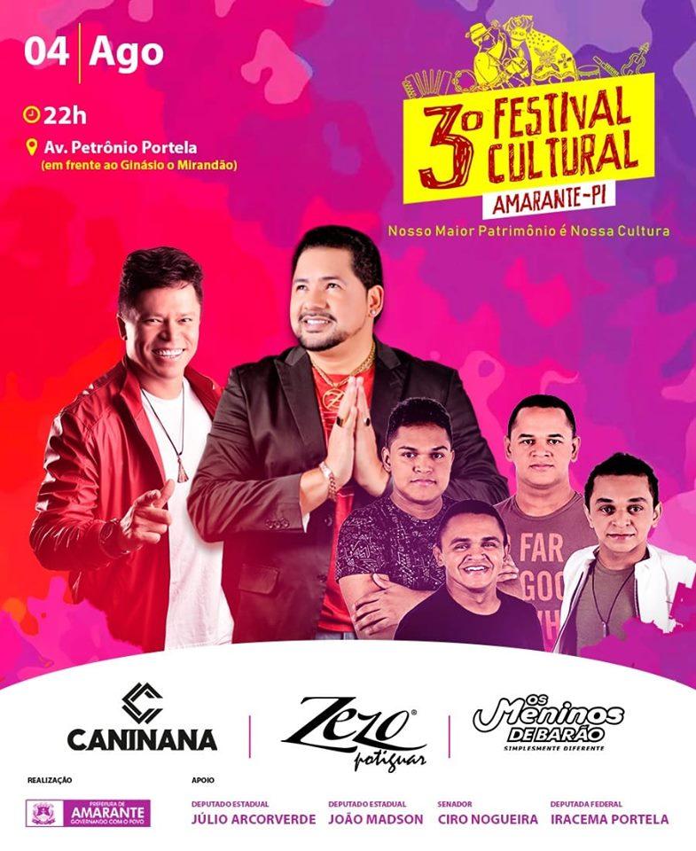 3º Festival da Cultura de Amarante