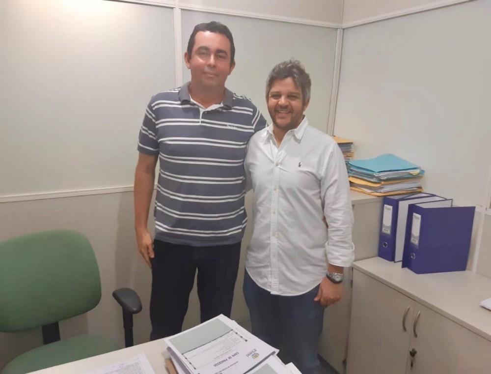 Prefeito Robertinho Consegue Melhorias para o Município de Miguel Leão