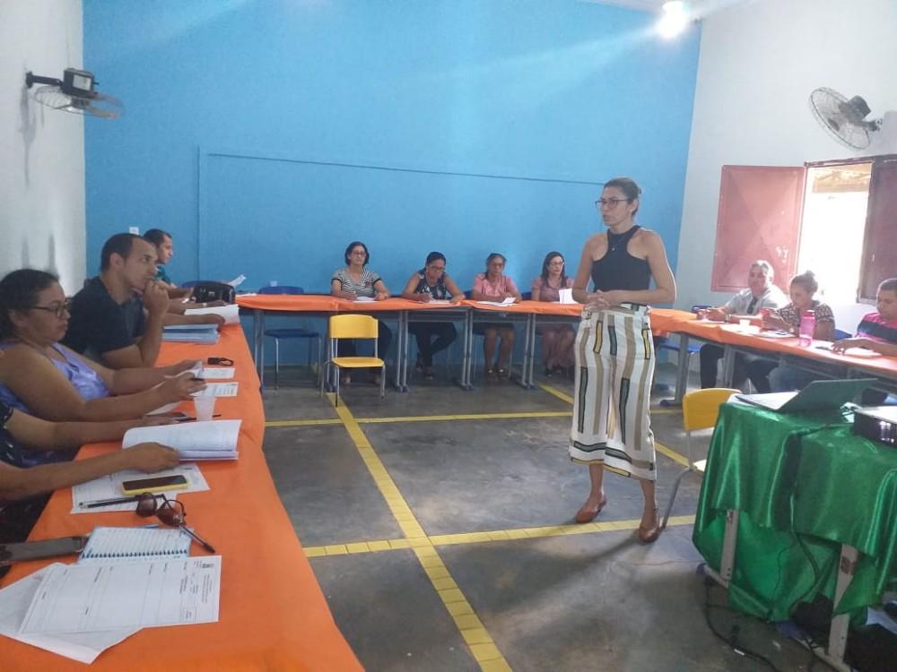 Educadores de Miguel Leão Participaram de Formação para o inicio das aulas do 2º Semestre