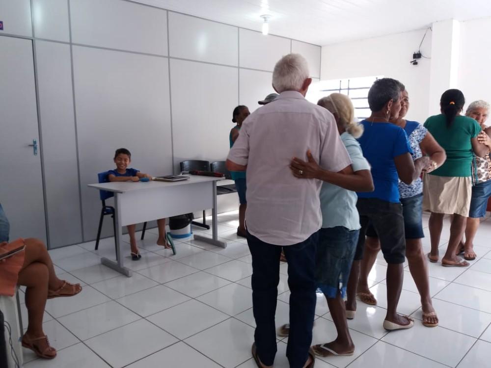 SCFV realiza mais um encontro com o Grupo de Idosos Chicão ainda Vive