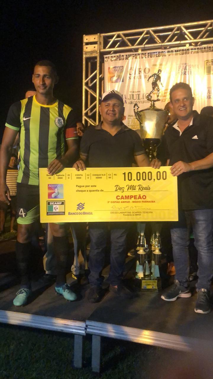 Seleção de Jardim do Mulato é Campeã do 3º Copão AMPAR de Futebol 2019