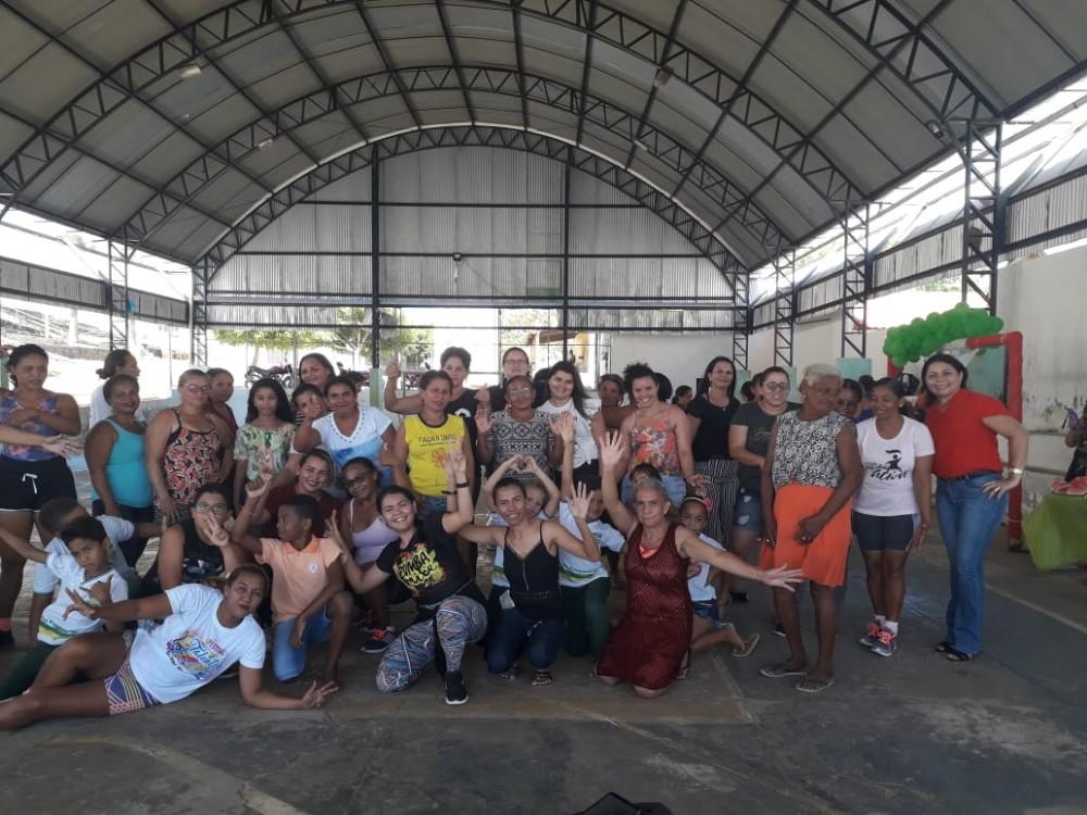 Projeto de Vida Ativa do NASF é executado em Santo Antônio dos Milagres