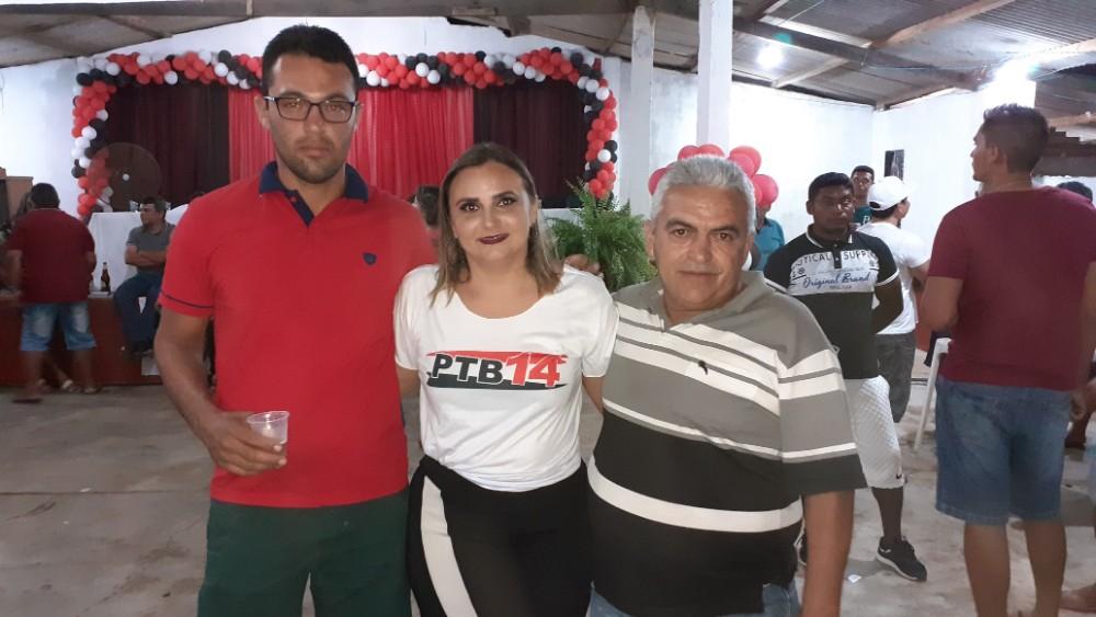 Kelly Alencar Assumi presidência do PTB em Lagoinha do Piauí