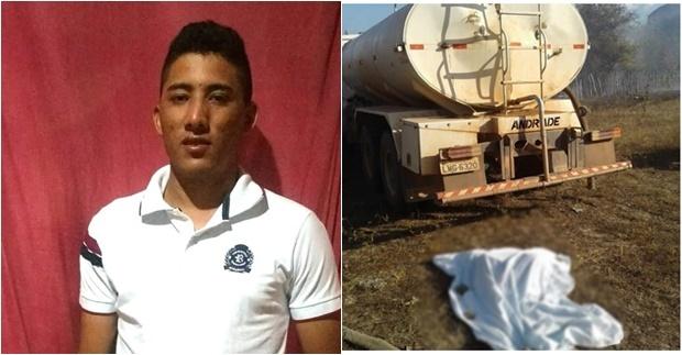 Caminhão-pipa esmaga cabeça de jovem que ajudava a apagar incêndio