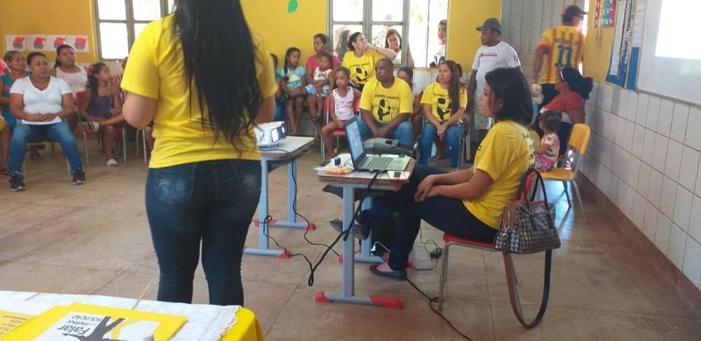 Secretaria de Saúde e Prefeitura de Curralinhos realizaram Campanha do Setembro Amarelo