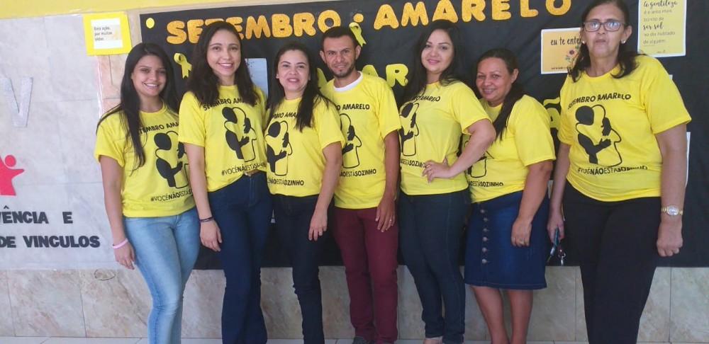 Secretaria de Saúde e Prefeitura de Curralinhos realizaram Campanha de Prevenção ao Suicídio