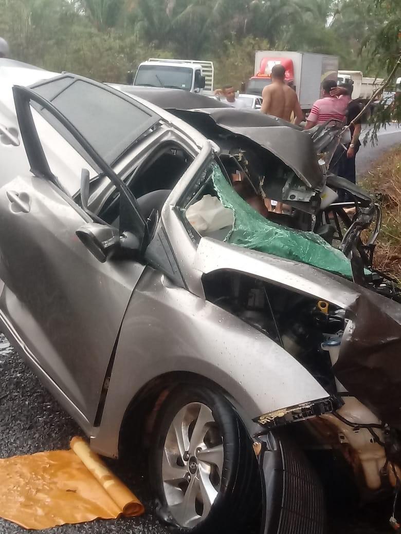 Acidente na Curva do S nas proximidades da Baixa Grande na BR 316 deixa 3 Pessoas Mortas