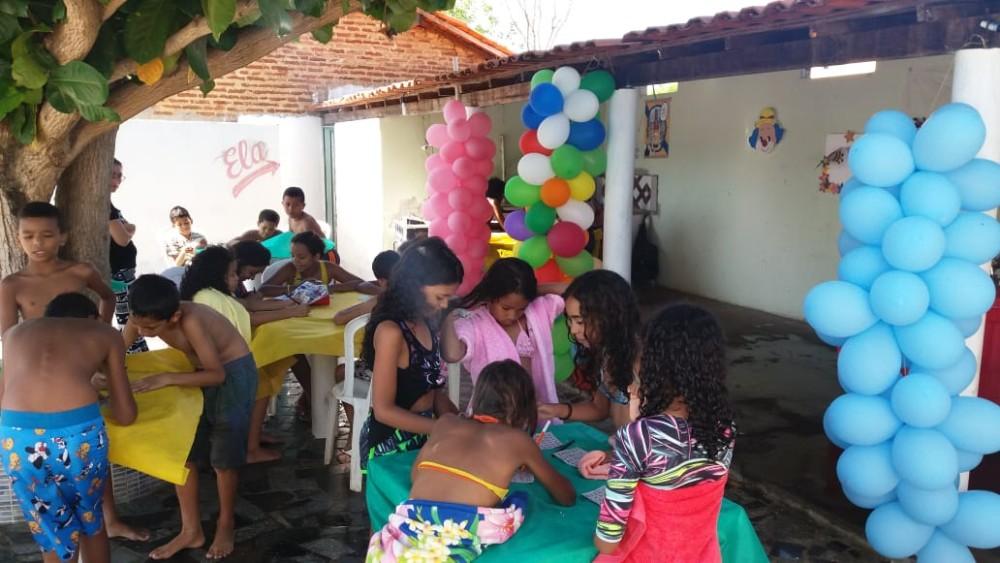 Prefeitura de Agricolândia e SCFV realizaram festa de Confraternização ao dia das Crianças