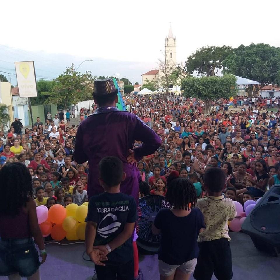 Prefeito Junior Bill realizou grande Festa paras as Crianças em São Pedro do Piauí