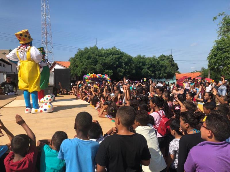Prefeitura de Santo Antônio dos Milagres Realizou Festa em Homenagem as Crianças