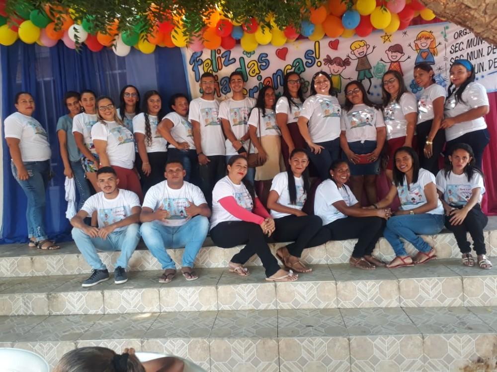 Prefeitura de Santo Antônio dos Milagres Realizou Festa em Homenagem as Crianças na Cidade