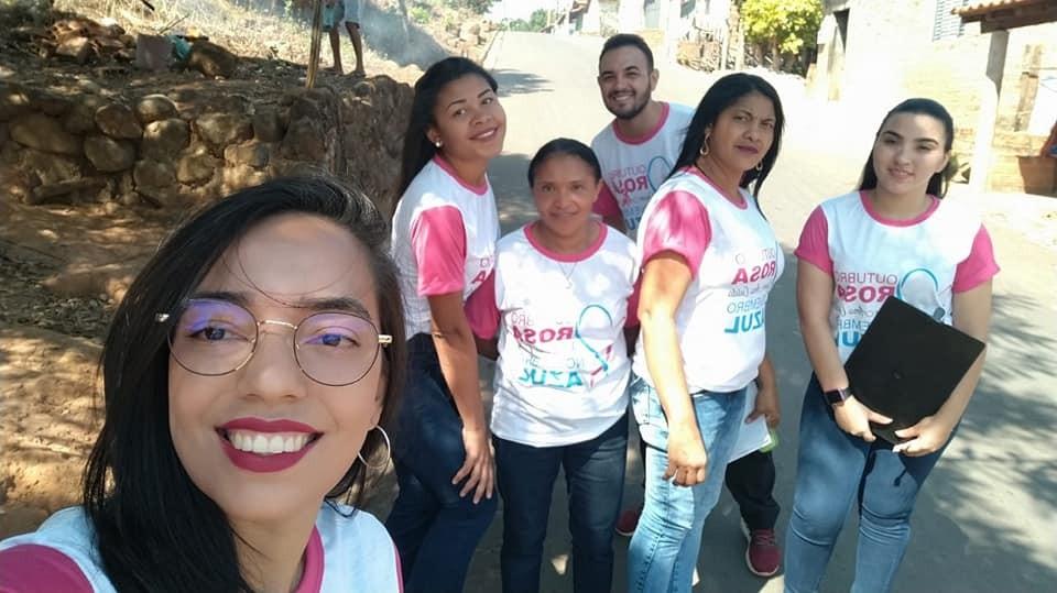 Secretaria de Saúde de Miguel Leão realizou o Dia D da Campanha Outubro Rosa