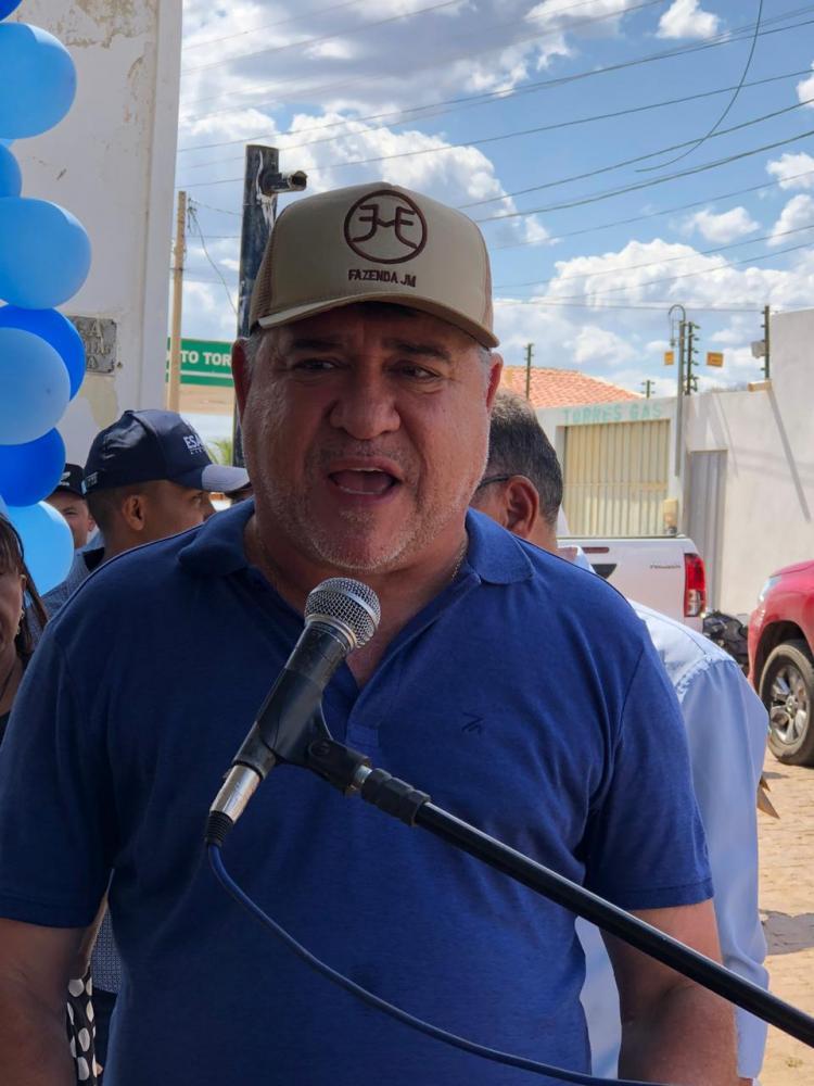 Deputado João Madison e Governador Wellington Dias Inauguram Obras em Capitão Gervásio