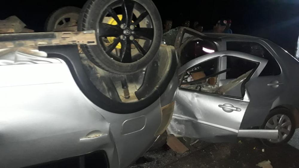 Mãe e duas filhas morrem em grave acidente na BR-343 no Piauí