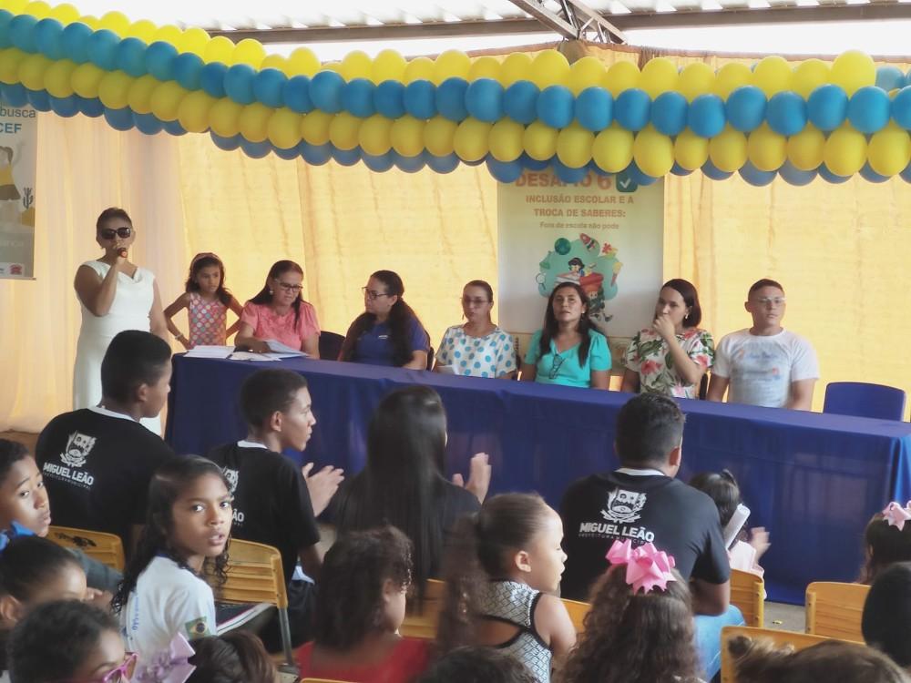 Secretaria de Educação de Miguel Leão realizou o 6º Desafio de Inclusão Escolar