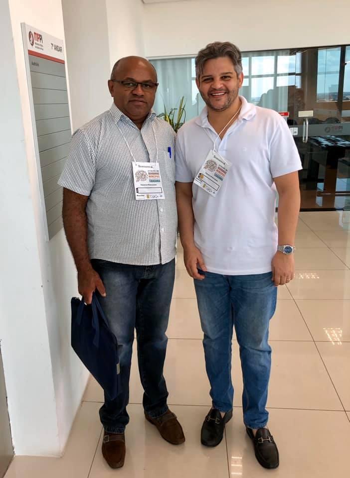 Prefeito Robertinho Participou do Seminário Criação de Ouvidorias Municipais em Teresina