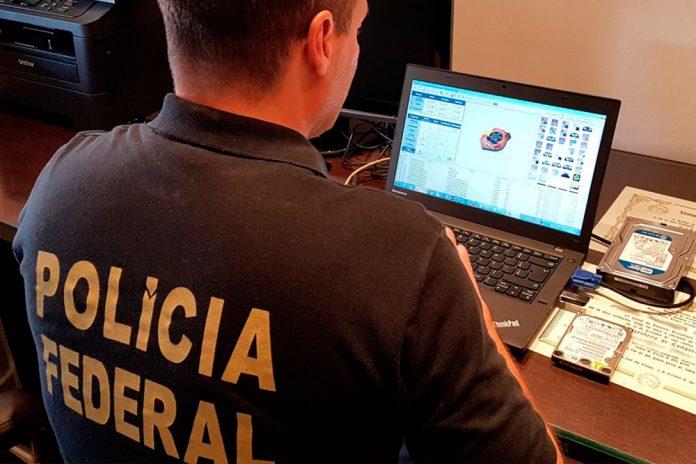 Acusados de crimes de pornografia infantil são presos pela PF em THE