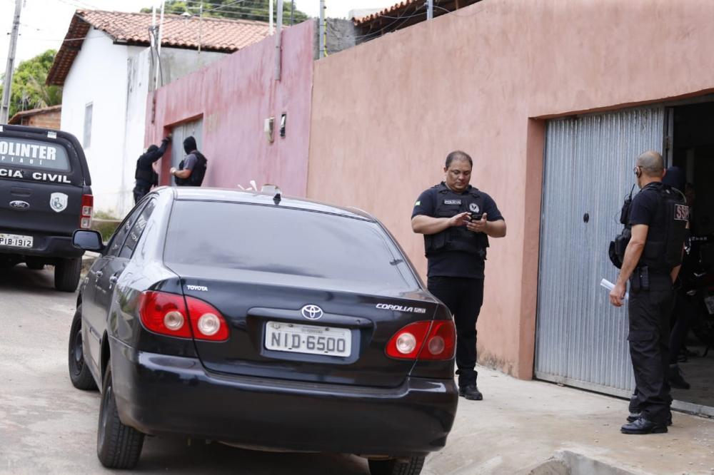 Operação contra roubo de carros cumpre 37 mandados de prisão em THE