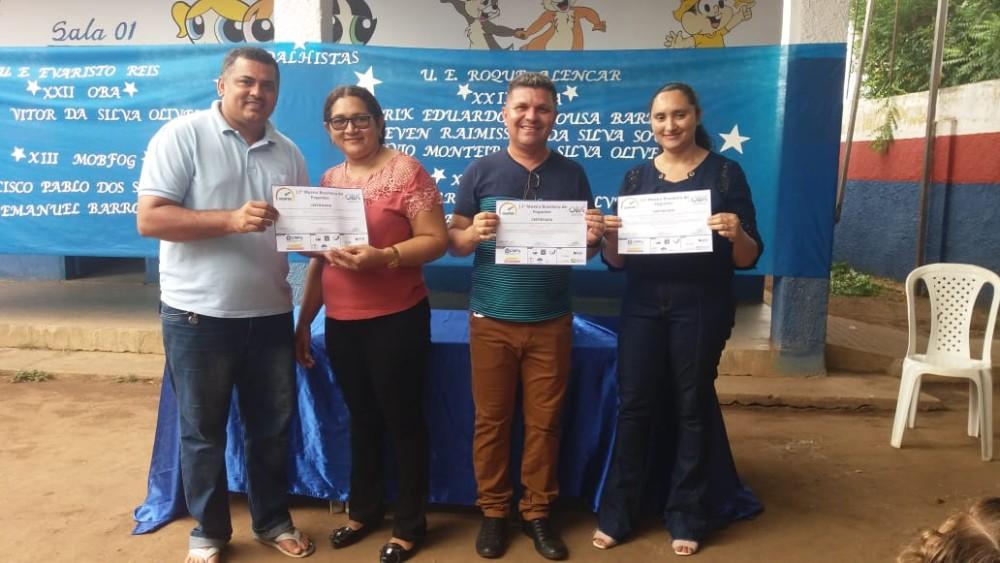 Alunos São contemplados com Medalhas e Certificados da Olimpíadas Brasileira de Astronomia
