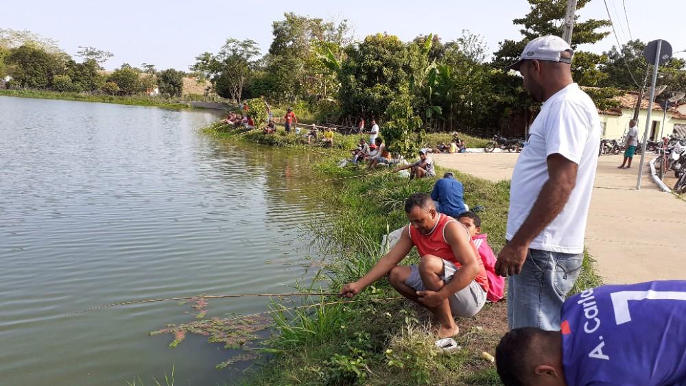 Pescaria Liberada nesse Final de Semana em Agricolândia nos dias 6, 7, e 8 de dezembro.